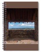 Window View - Ccc Lookout- Cedar Breaks - Utah Spiral Notebook