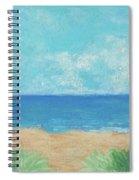 Windy Day At Lowdermilk Beach Spiral Notebook
