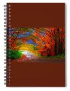 Windy Day Spiral Notebook