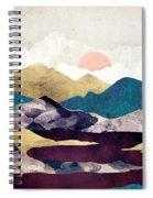 Wine Lake Spiral Notebook