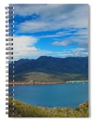 Wineglass Bay Spiral Notebook