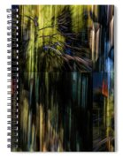 Wings Flying Out Of Time Spiral Notebook