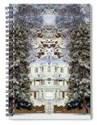 Winter At The Susanville Elks Lodge Spiral Notebook