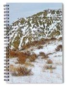 Winter Badlands Spiral Notebook