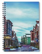 Winter Morning - Park City, Utah Spiral Notebook