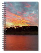 Winter Morning Sky Spiral Notebook