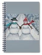Winter Stroll Spiral Notebook