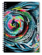 Winter Tail Just Chillin Spiral Notebook