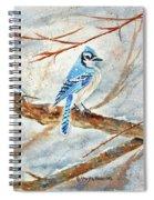 Winter Tree Hugger Spiral Notebook