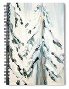 Winter Trees #4 Spiral Notebook
