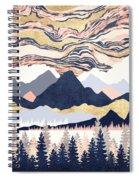 Winter's Sky Spiral Notebook