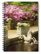 Winterthur Spring Pond Spiral Notebook