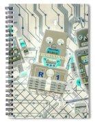 Wired Intelligence Spiral Notebook