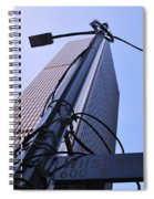 Wired Wilshire Downtown Spiral Notebook