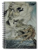 Witches, 1907 Spiral Notebook
