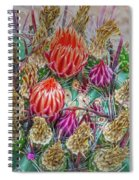 Withering Beauty Spiral Notebook
