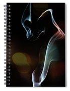Wolf Cub - Smoke Photography Spiral Notebook