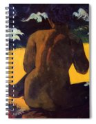 Woman By The Sea 1892 Spiral Notebook
