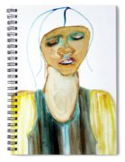 Woman On Trial Spiral Notebook