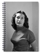 Woman Posed Spiral Notebook