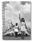 Women And Rings Spiral Notebook