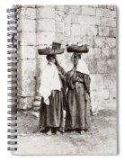 Women From Siloan In Jerusalem Spiral Notebook