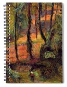 Wooded Path 1884 Spiral Notebook