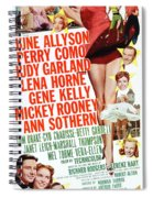 Word And Music 1948 Film Spiral Notebook