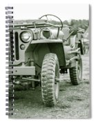 World War II Era Us Army Jeep Spiral Notebook