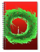 Wreath2 Spiral Notebook