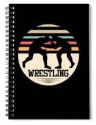 Wrestling Art Spiral Notebook