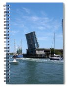 Wrightsville Beach Bridge In North Carolina Spiral Notebook