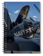 Ww2 F4u Corsair  Spiral Notebook