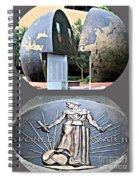 World War 2 Memorial Savannah Spiral Notebook