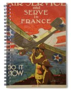 Www1 Join And Serve  Spiral Notebook