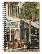 Ybor City Movie Set Spiral Notebook