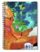 Yehuda Reading Spiral Notebook