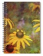 Yellow Among Purple 4234 Idp_2 Spiral Notebook