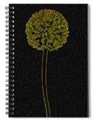 Yellow Art Spiral Notebook