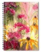Yellow Ballerinas Spiral Notebook