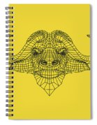 Yellow Buffalo Spiral Notebook