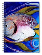 Yellow Fin Integral Spiral Notebook