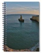 Yellow Submarine Bay In Lagoa Spiral Notebook