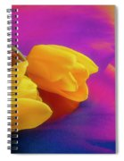 Yellow Tulips 2 Spiral Notebook