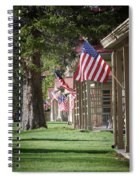 Yellowstone Flags Spiral Notebook