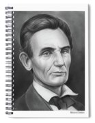 Young Lincoln Lawyer Spiral Notebook