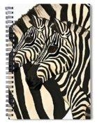 Z Is For Zebras Spiral Notebook