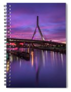 Zakim Sunset Spiral Notebook