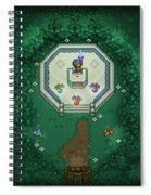 Zelda Mastersword Spiral Notebook