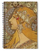 Zodiac, 1896  Spiral Notebook